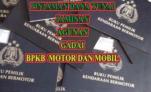 Pinjaman Tunai Gadai BPKB di Aceh